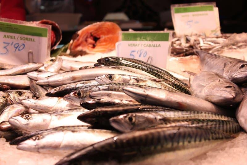 La Boqueria: Mercado de Barcelona fotos de stock royalty free