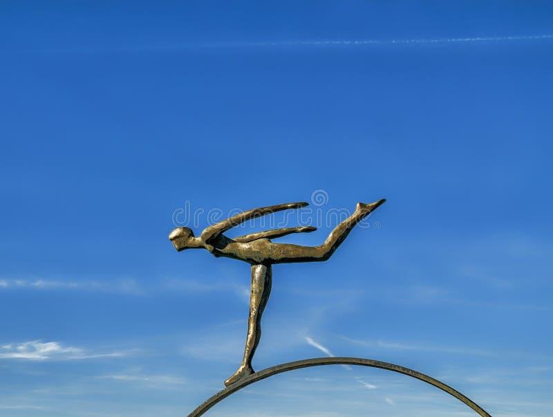 La Boschetto-scultura immagini stock