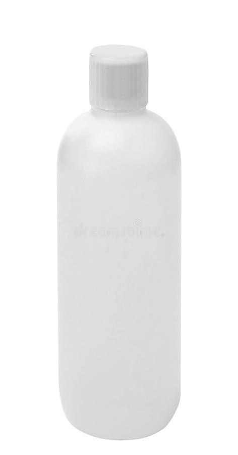 La bouteille en plastique de lavage photo libre de droits