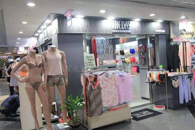 La boutique de jour en Corée du Sud photographie stock