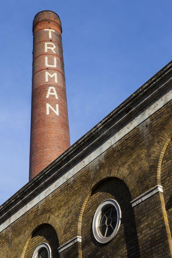 La brasserie de Truman à Londres est images libres de droits