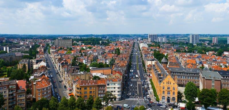 La Bruselas moderna fotografía de archivo libre de regalías