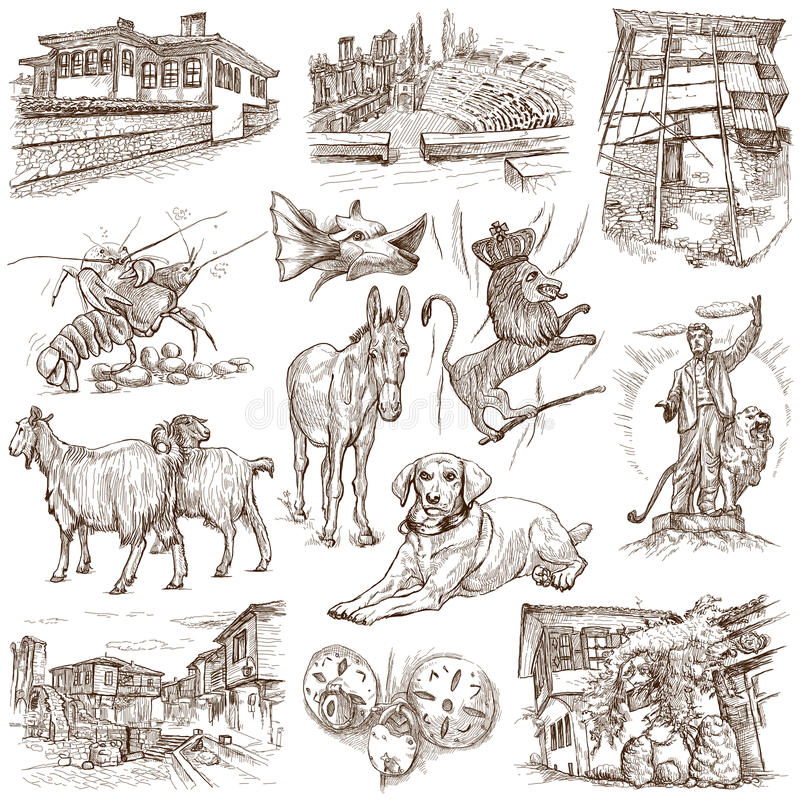 La Bulgaria 1 royalty illustrazione gratis