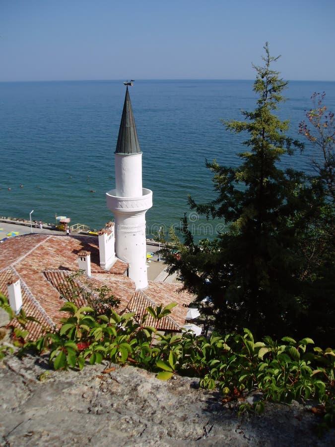 La Bulgaria, Balchik fotografie stock libere da diritti