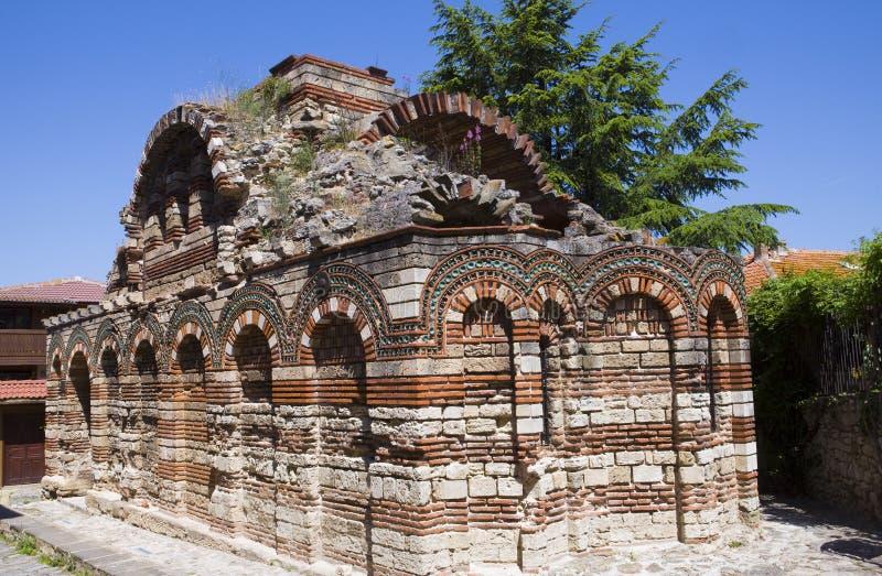 La Bulgaria, la città di Nesebr fotografie stock