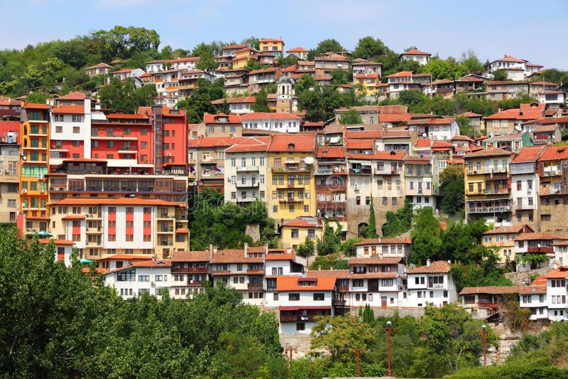 La Bulgaria - Veliko Tarnovo fotografie stock libere da diritti
