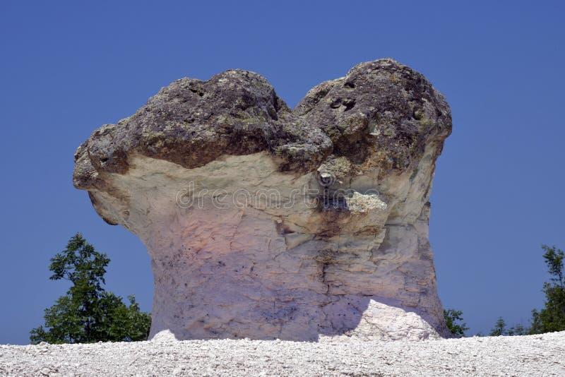 La Bulgarie, roches de champignon image stock
