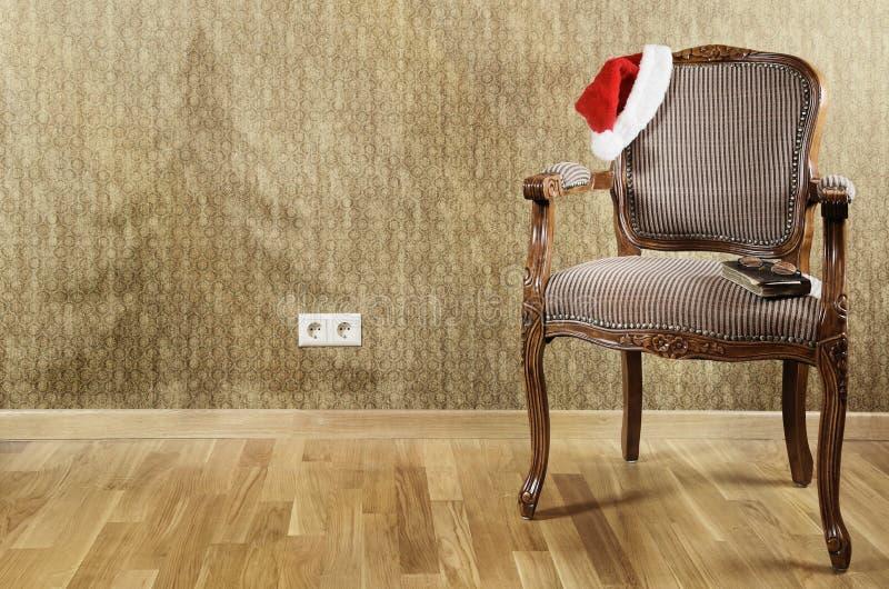 La butaca de Papá Noel imagen de archivo