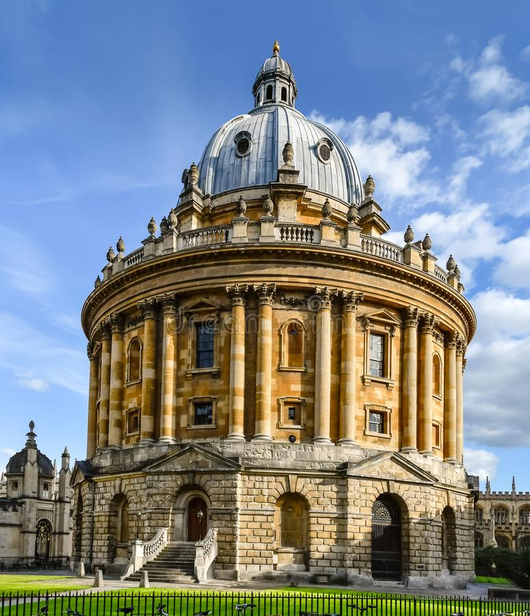 La cámara de Radcliffe en Oxford, Inglaterra imagen de archivo