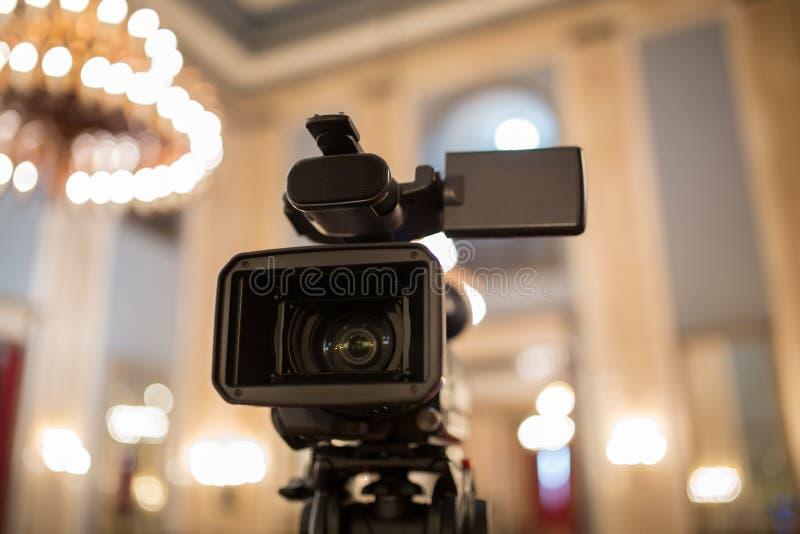 La cámara de vídeo aisló imagen de archivo libre de regalías