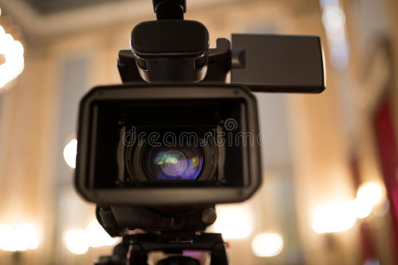 La cámara de vídeo aisló imágenes de archivo libres de regalías