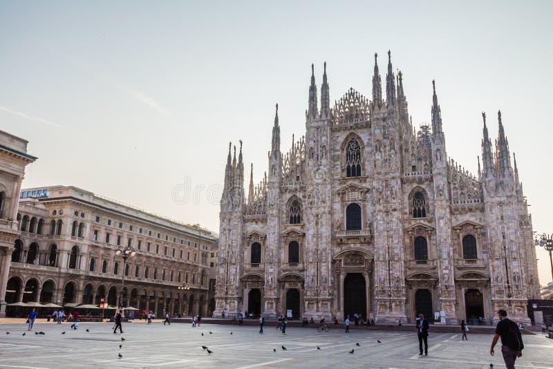La cátedra de Milán fotos de archivo libres de regalías