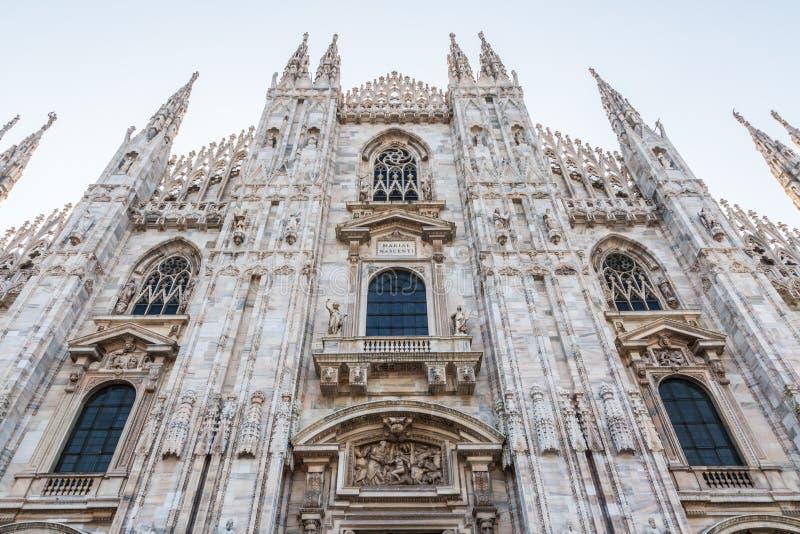 La cátedra de Milán imagen de archivo