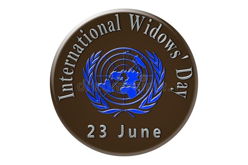 La célébration internationale des Nations Unies, internationale illustration stock