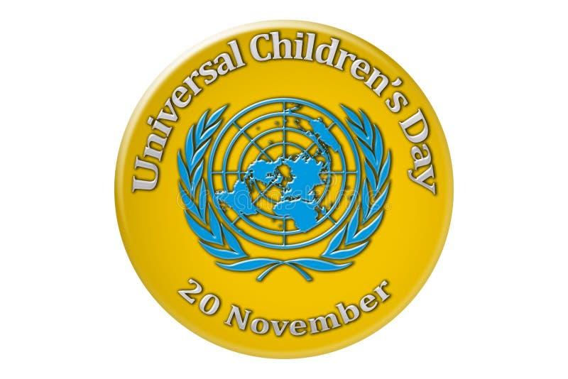 La célébration internationale des Nations Unies ch universel illustration libre de droits