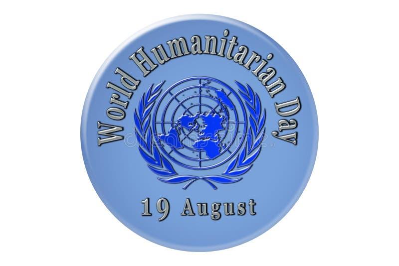 La célébration internationale des Nations Unies, humain du monde illustration de vecteur