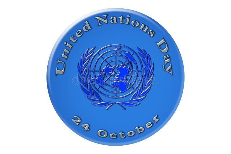 La célébration internationale des Nations Unies, Nati uni illustration libre de droits