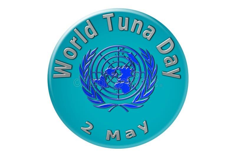 La célébration internationale des Nations Unies, thon du monde illustration stock