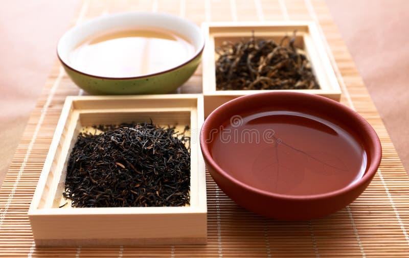 La cérémonie de thé image libre de droits