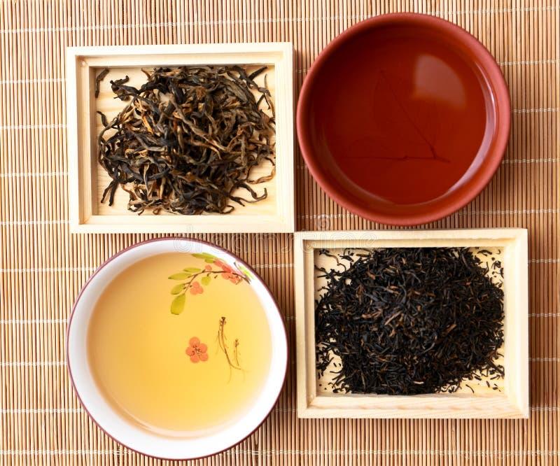 La cérémonie de thé photographie stock