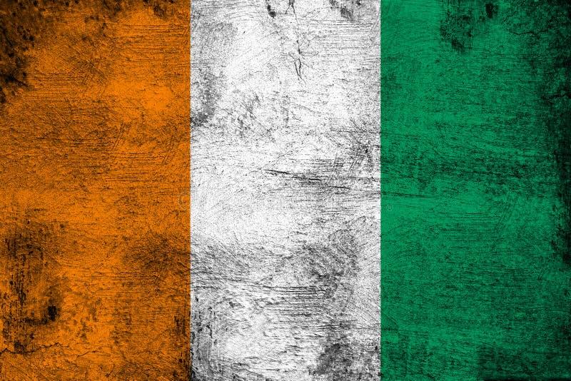 La Côte d'Ivoire illustration de vecteur