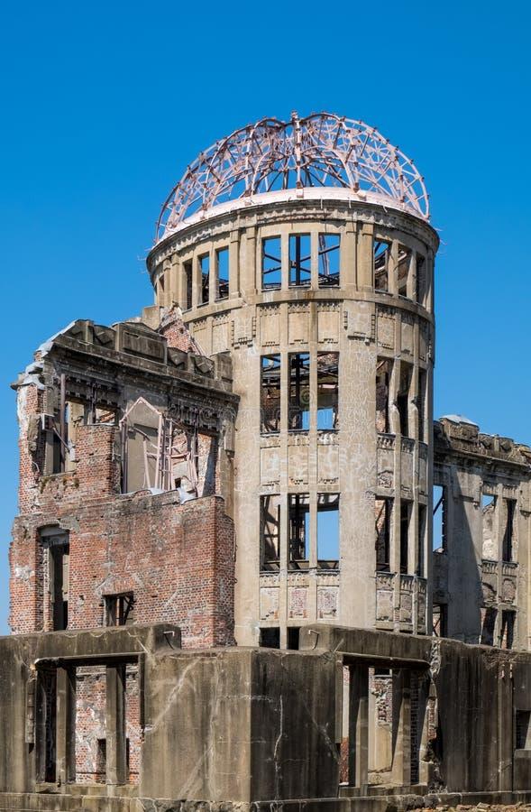 La Cúpula de la Bomba Atom, Hiroshima, Japón imagen de archivo