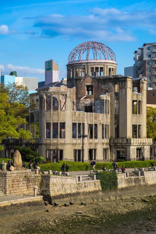 La Cúpula de la Bomba Atom, Hiroshima, Japón fotografía de archivo libre de regalías