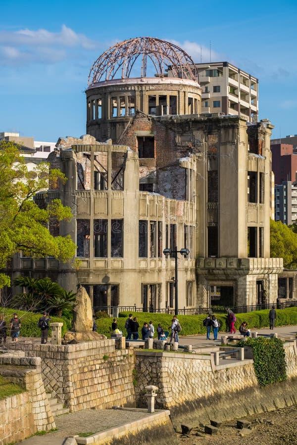 La Cúpula de la Bomba Atom, Hiroshima, Japón imagenes de archivo