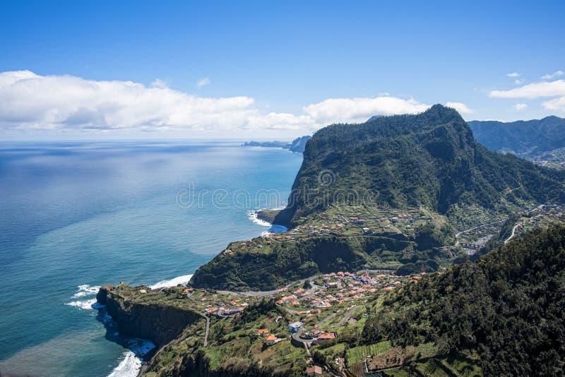 La côte de la Madère image stock