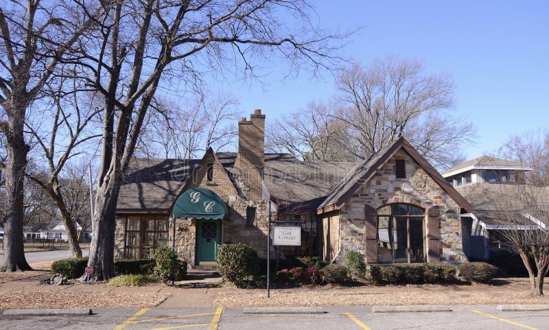 La cabaña del regalo, Memphis del oeste, Arkansas fotografía de archivo