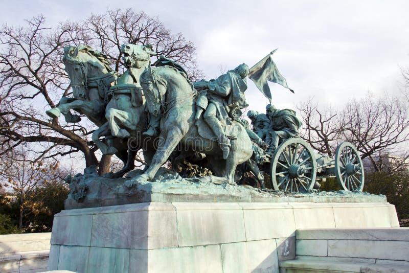 La caballería agrupa imagen de archivo libre de regalías