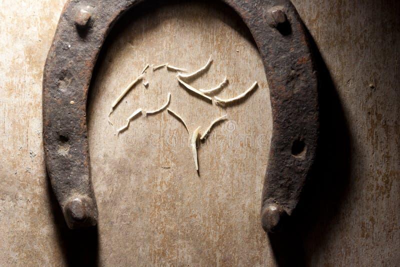 La cabeza de caballo fotografía de archivo libre de regalías