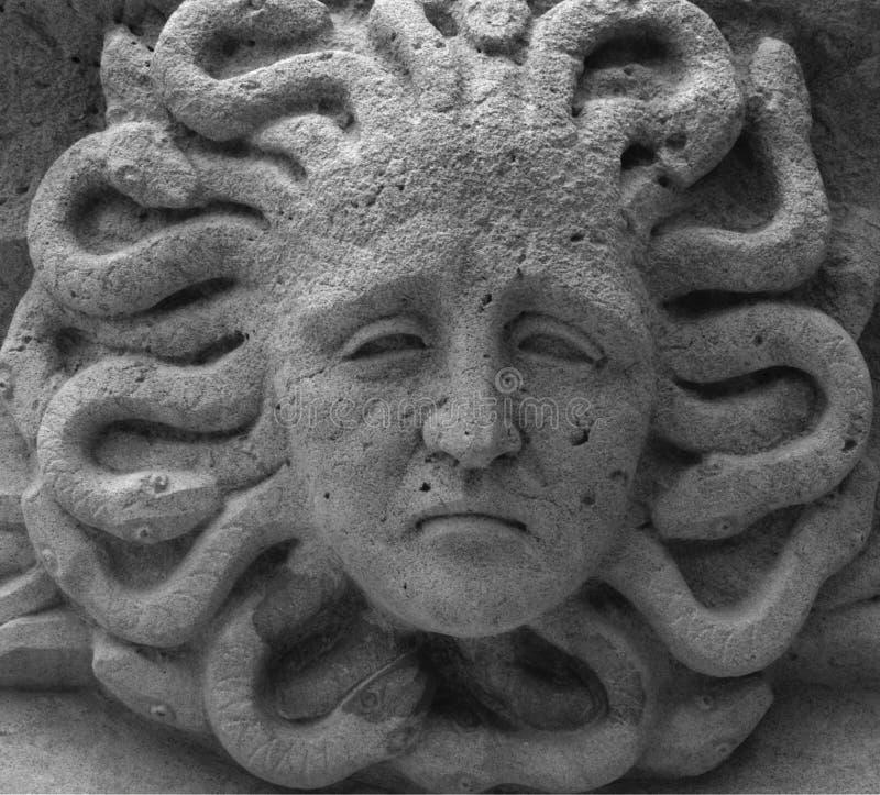 La cabeza de la medusa foto de archivo