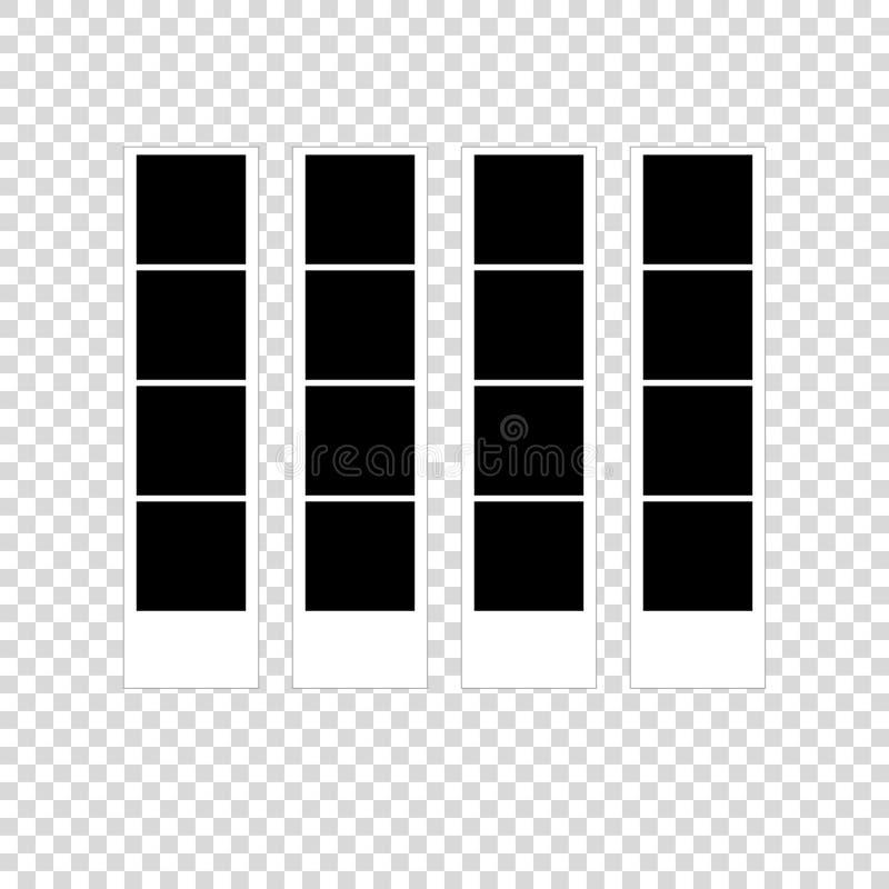 la cabina della foto ha stampato lo spazio vuoto delle immagini per royalty illustrazione gratis