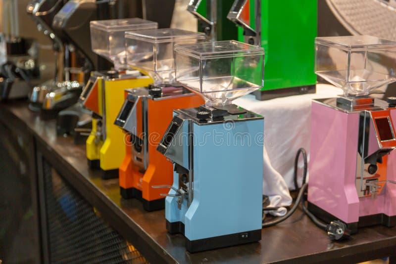 la cafetería puede hacer muchos tipos del café fotografía de archivo libre de regalías