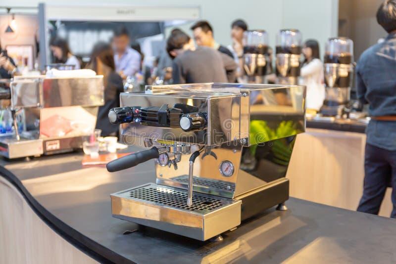 la cafetería puede hacer muchos tipos del café fotos de archivo libres de regalías