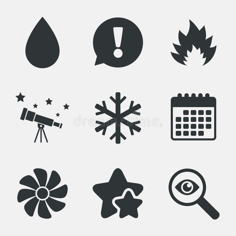 LA CAHT Chauffage, aérant et climatisation illustration libre de droits