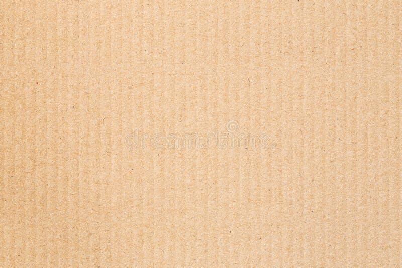 La caja de papel marrón es fondo vacío, abstracto de la cartulina foto de archivo libre de regalías
