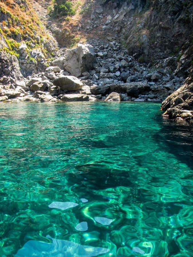 La Calabria fotografia stock
