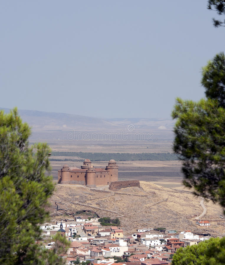Download La Calahorra Castle Spain stock image. Image of sierra - 20870141