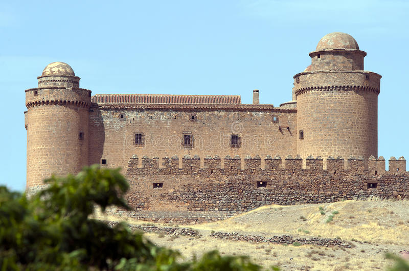 Download La Calahorra Castle Spain stock image. Image of famous - 20895033