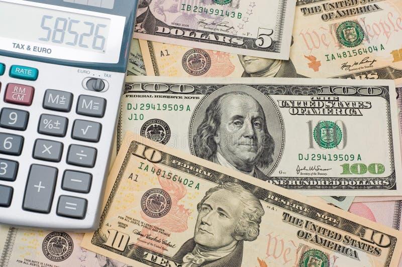 Download La Calculadora Y Dólar Americano Imagen de archivo - Imagen de compra, económico: 7283429