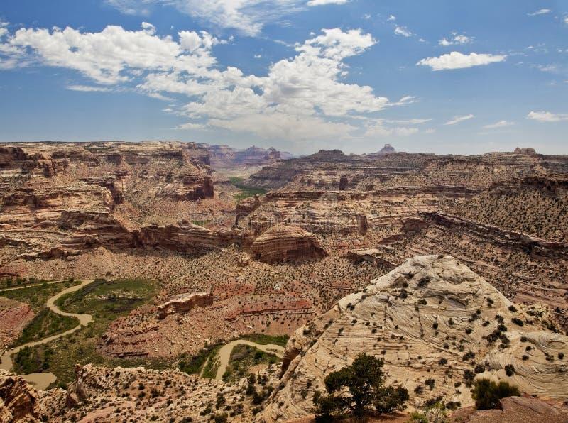 La cale à l'houle de San Rafael de l'Utah photographie stock libre de droits