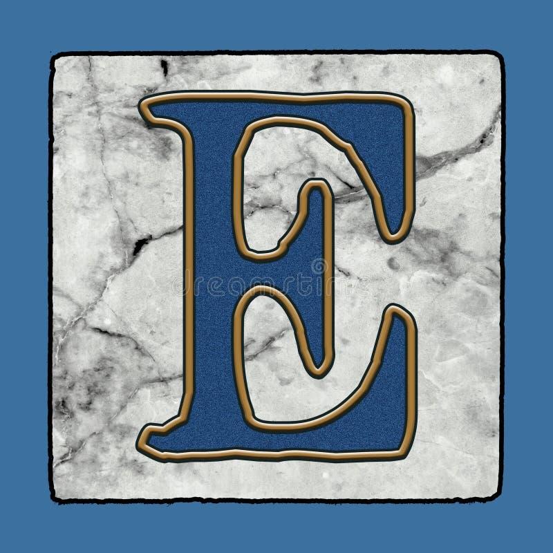 La calle clásica icónica histórica de New Orleans teja números y símbolos del Grunge del alfabeto de la letra de la acera ilustración del vector