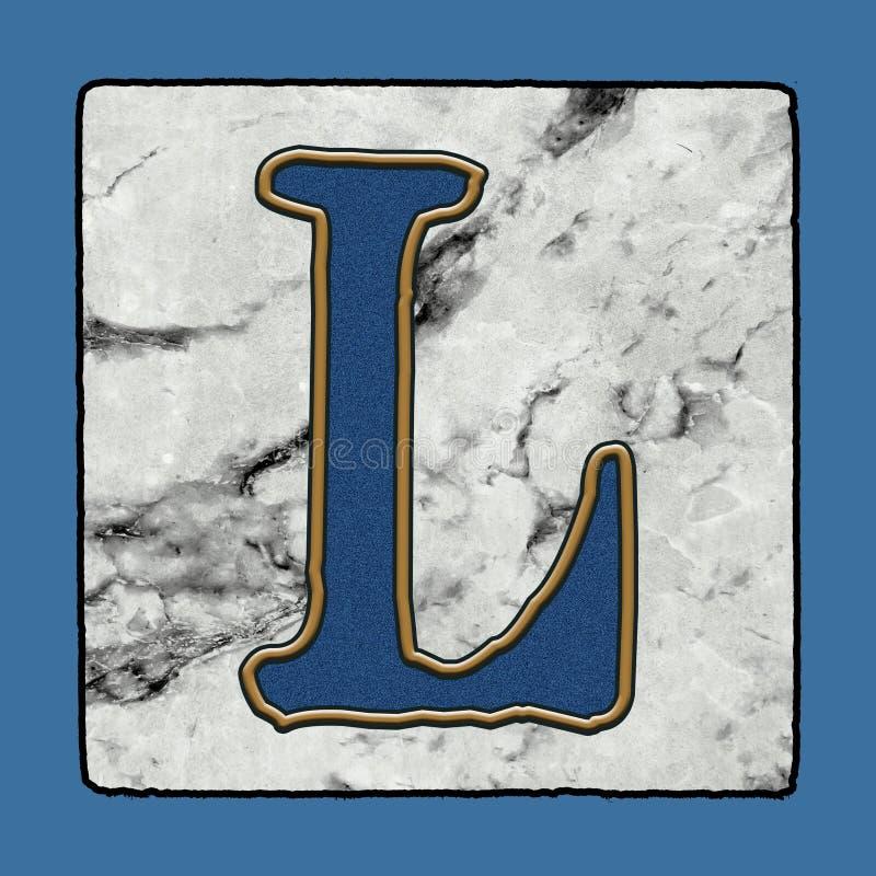 La calle clásica icónica histórica de New Orleans teja números y símbolos del Grunge del alfabeto de la letra de la acera libre illustration