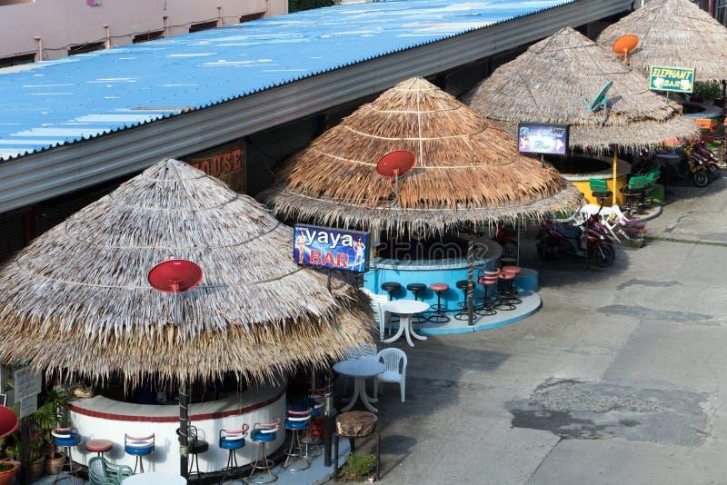 La calle de la luz roja en Phuket fotografía de archivo libre de regalías