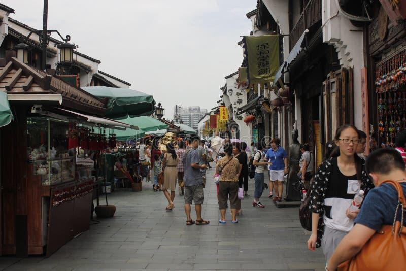 La calle del viaje imagen de archivo