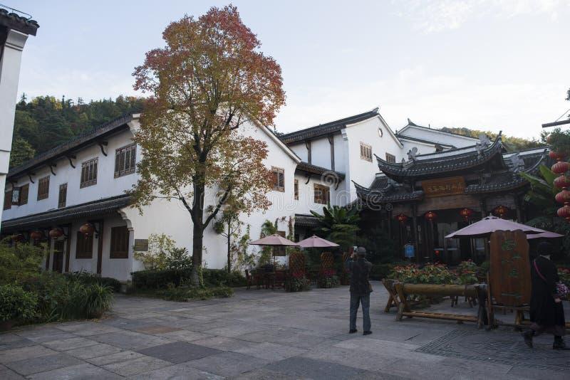 La calle vieja del mar de bambú nanshan en la ciudad de liyang, provincia de Jiangsu imagen de archivo