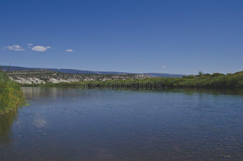 La calma fresca grande Green River fotografía de archivo