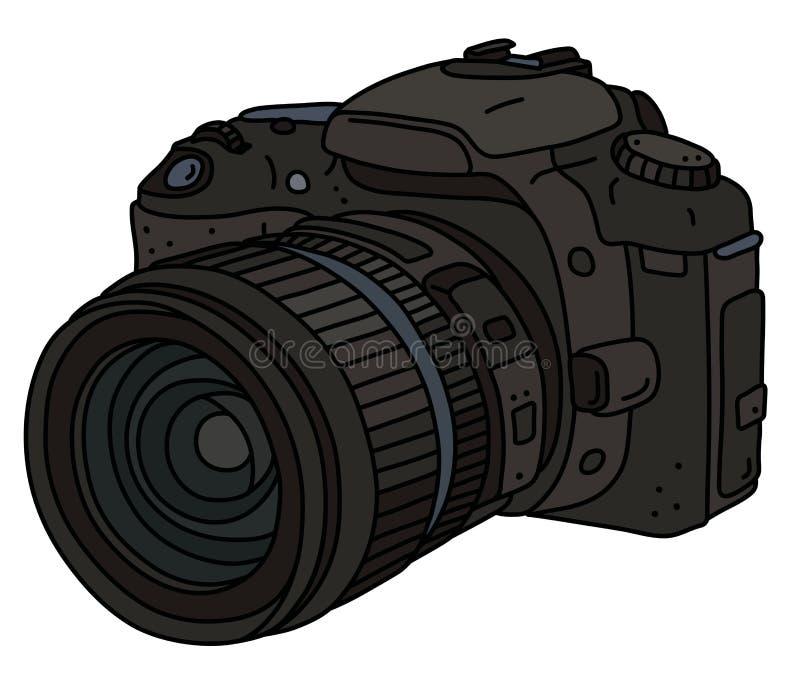 La caméra photographique numérique illustration stock
